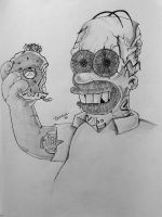 Homer Simpson by sonu9