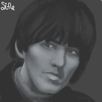 George Harrison again by Sifle