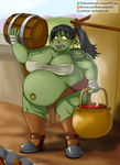 Big Fat Orc by ProfessorDoctorC