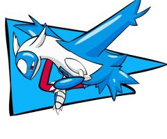 Mystery Dungeon: Latios by Iron-Zing