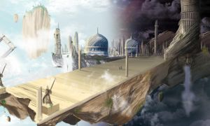 Avangelis City of the gods by FoxDie49