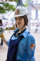 Team Fortress 2 - BLU Engineer by TPJerematic