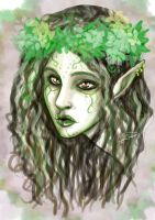 The wood elf by PiccolaRia by Realm-of-Fantasy