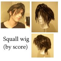 Commission: Squall wig by score6