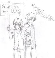 Feremy 6: Give us your LOVE by Whim-doll
