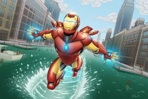 Iron Man by Brian-Robertson