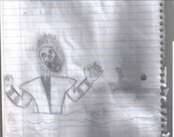 Scorpion's Resurrection_Sketch by Michaelthevampire7