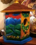 The Hills are Alive Birdhouse by Kelliana87