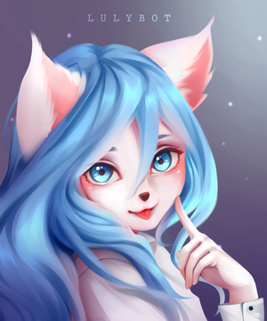 Commission furry by Lulybot
