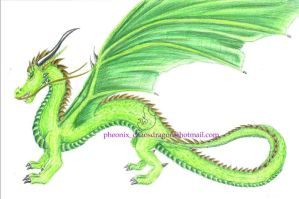 dragon god of earth ? by chaosia