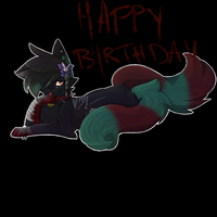 Happy Birthday Bloody by FIS-DrawNTime