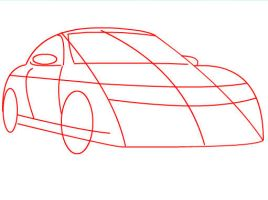 How to draw a Porsche Part 1 by SketchHeroes