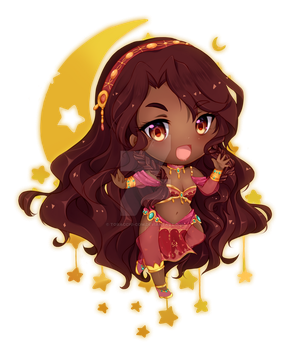Simple Cheeb Commission for Rumiiya by Toracchi-Com