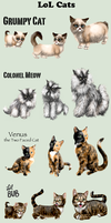 Adopt -LoL Cats- by elen89