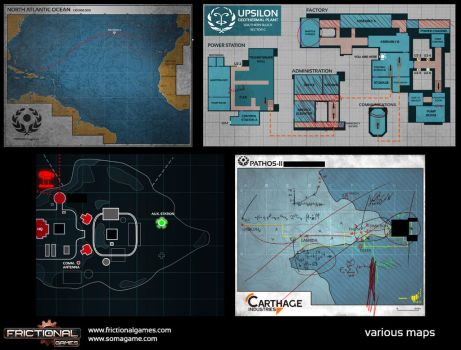 Soma Graphic Design #4: Maps by SethNemo
