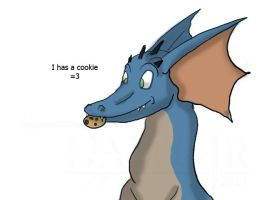 I has a cookie by Dawgjr
