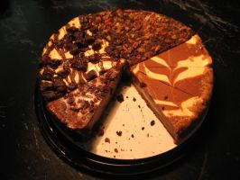 Chocolate Cheesecake Sampler by devianb