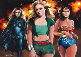 Super-women by Power-and-Chaos