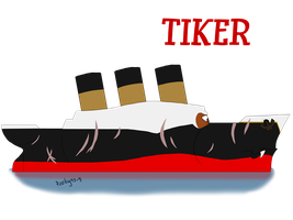 Tiker the ship by pookyhorse