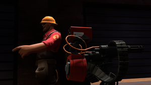 TF2 + SFM, Sentry + Engineer by Warmo161