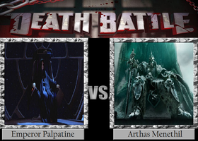 Emperor Palpatine vs. Arthas Menethil by JasonPictures