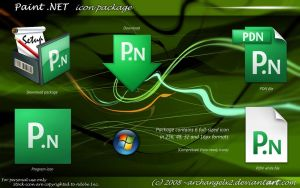 Paint .NET Icon Package by ArchangelX2