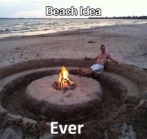 Beach Idea by The--Mad--Russian