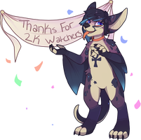Thanks for the 2K Watchers by TalonEX