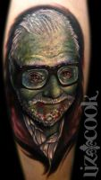 George Romero by LizCookTattoo