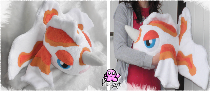 Goldeen Plush by PinkuArt