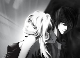 Light y Misa by Chocolobita