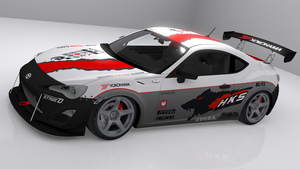 Toyota GT-86 HKS Wolf by skytire