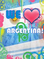 We Love Argentina by OpenGraffiti
