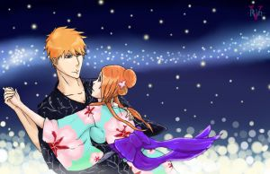 IchiHime Week_Day 7_Tanabata by Verano-Rin