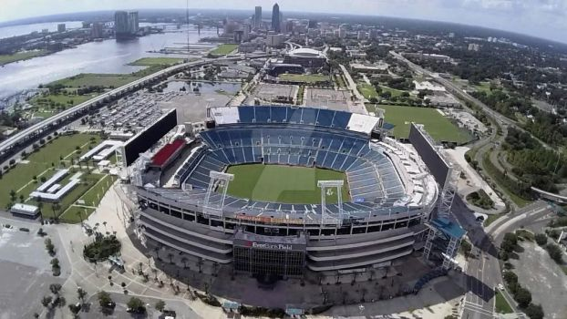 Everbank Field Aerial by codemics