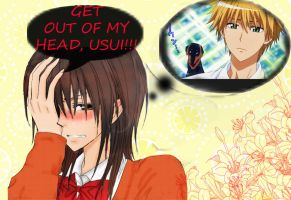 Get Out of My Head, Usui! by La-cruciatus