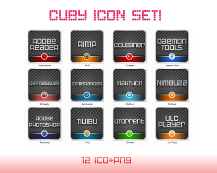 Cuby Icon Pack! by fuki53