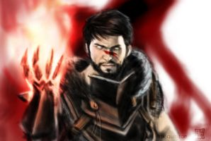 Hawke speed painting practice by trixdraws