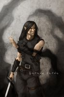 Commission: Tyr by SerenaVerdeArt