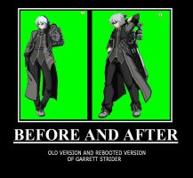 RWBY X OC Garrett Strider Before and After by ZeroSenPie
