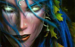 Night Elf by LordHighWarlock