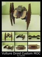 Classic-style LSW Vulture Droid MOC by rusty595