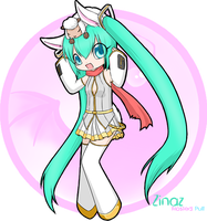 Zinaz the Mikuclone by 216th