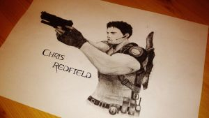 Chris Redfield by LilianaDani