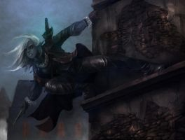 Drow Assassin by thatDMan
