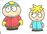 Cartman and Butters by cmara
