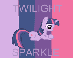 Twilight Sparkle Wallpaper by FluttershyAdorable
