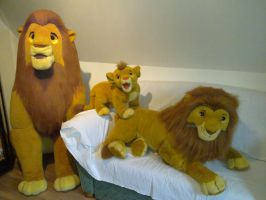 Douglas Lion King Disney plush by Frieda15