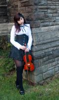 Violin 5 by Noree-stock