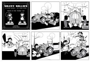 Silent Sillies 026 - The return of the cranky car by JK-Antwon